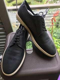 Giorgio Armani Leather Sneakers