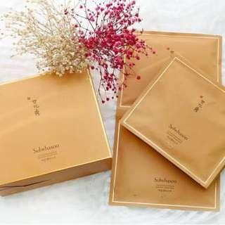 Sulwhasoo 滋陰生人參煥顏面膜 Concentrated Ginseng Renewing Creamy Mask