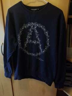 Undercover A Circle Bear Navy Sweater