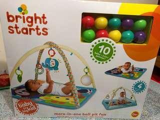 嬰兒玩具 play gym