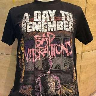 🚚 A day to remember bad vibrations rock t shirt ADTR