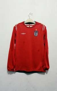#mauvivo JERSEY ENGLAND AWAY 2004 EURO ORIGINAL SECOND
