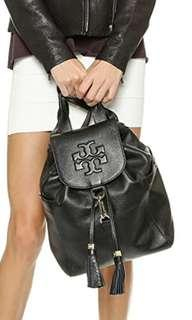 🚚 Authentic Tory Burch Thea Black Backpack (Large). #MRTRaffles