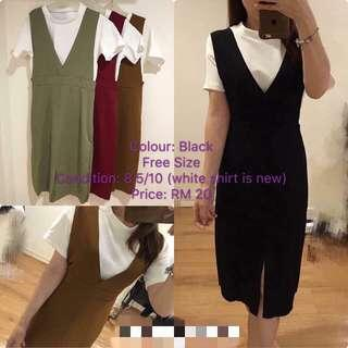 Trendy Dress in 2 Pcs Free Size