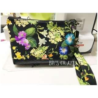 Floral pouches