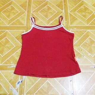 🎈SALE🎈F21 Insp Summer Red Top