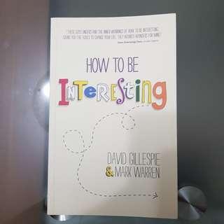 🚚 How to be Interesting - David Gillespie & Mark Warren