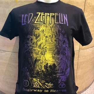 🚚 Led Zeppelin stairway to heaven rock t shirt LZ