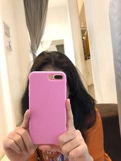 Case pink iPhone 7 plus & 8 plus