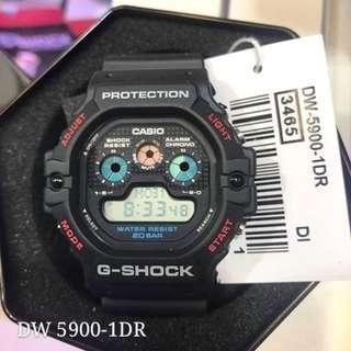 G-Shock Digital Fashion Sports Watch DW-5900-1 Series