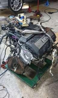 BMW E46 M54 2.2 double venos ( engine kosong)