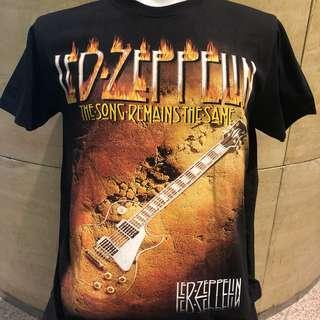 🚚 Led zeppelin song remains the same rock t shirt LZ