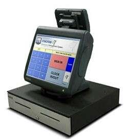 Restaurant coffee bar POS micros e7 + drawer + printer