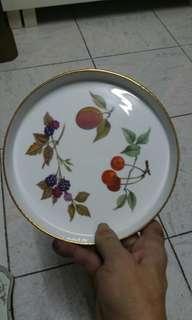 英國7吋瓷碟。(南昌西鐵站交收。)