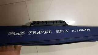 Fishing Rod Relix Travel Spin