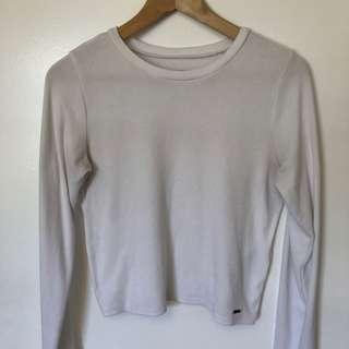 Hollister ribbed long sleeve