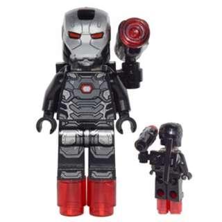 Lego 76051- War Machine (with shooter) SH258  連武器及特效配件