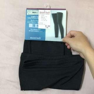 🚚 日本 Mont-bell 快乾排汗黑色條紋緊身套褲