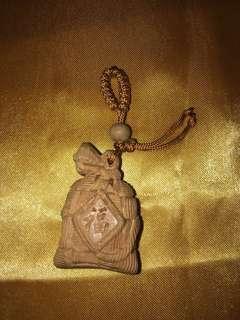 Money bag keychain