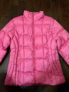 🚚 粉紅色羽絨衣