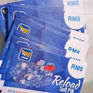 Touch N Go e-wallet RM8 voucher (First time user only)