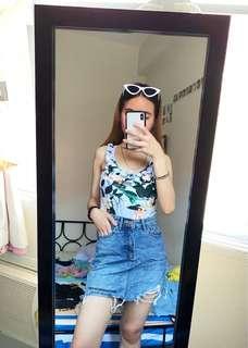 Bodysuit and Hw Skirt