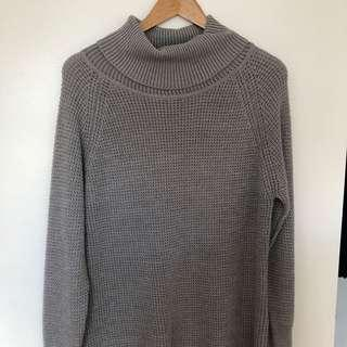 M Boutique cable knit turtleneck