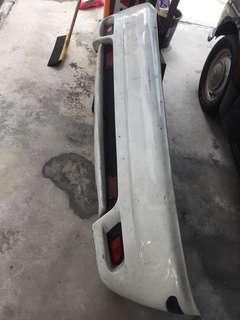 Original Satria GTI rear bumper