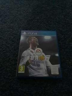 Fifa 18 ps4 for 30$ (negotiable)