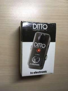 TC Electronic Ditto Looper Pedal 電結他 Bass 效果器