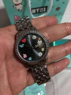 On-hand Official BT21 x OST watch