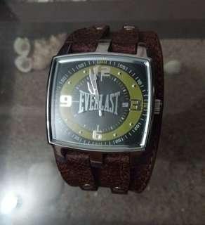 Jam kulit asli EVERLAST original like new