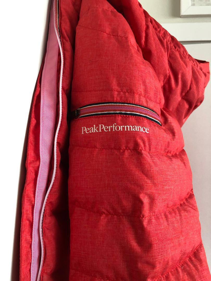$500+ Goose Feather Puffer / Light Ski Jacket by Peak Performance size M