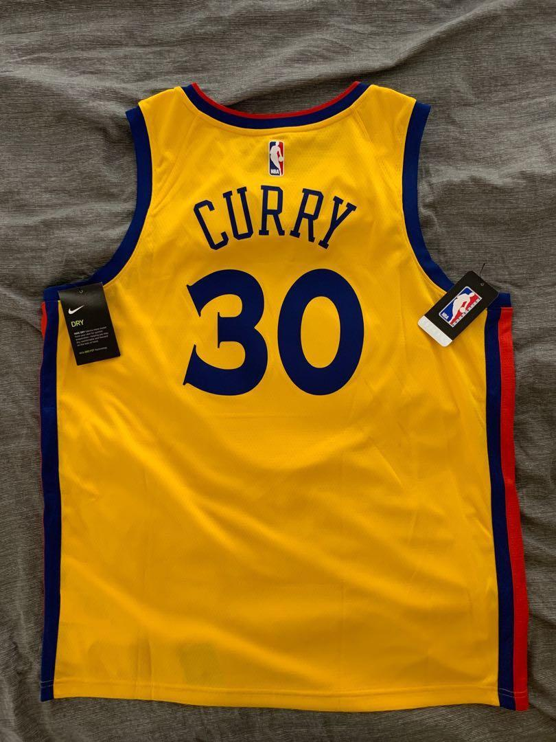 new concept c1393 cf956 NBA Warriors Stephen Curry Jersey, Sports, Sports Apparel on ...