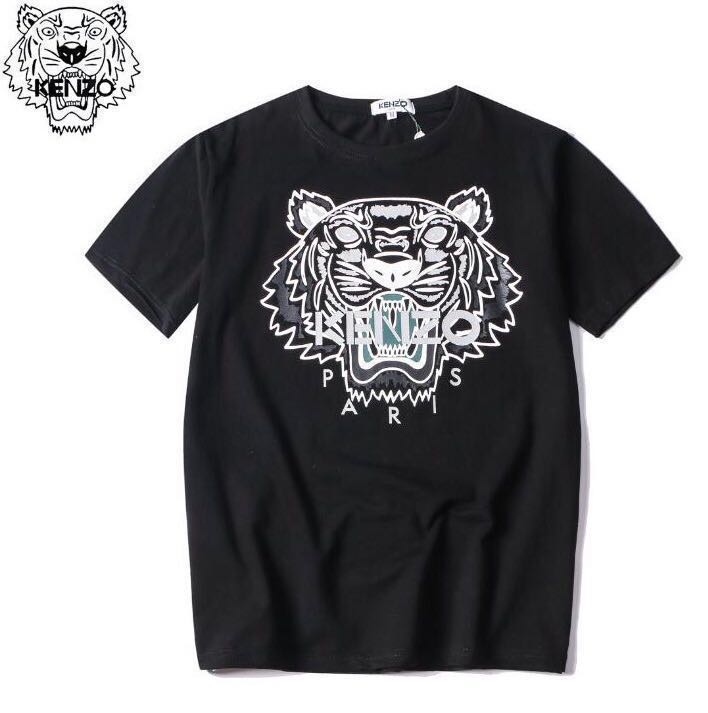 56809b375a3 [ PO ] Kenzo Black Tiger T Shirt/Tee Shirt, Men's Fashion, Clothes, Tops on  Carousell