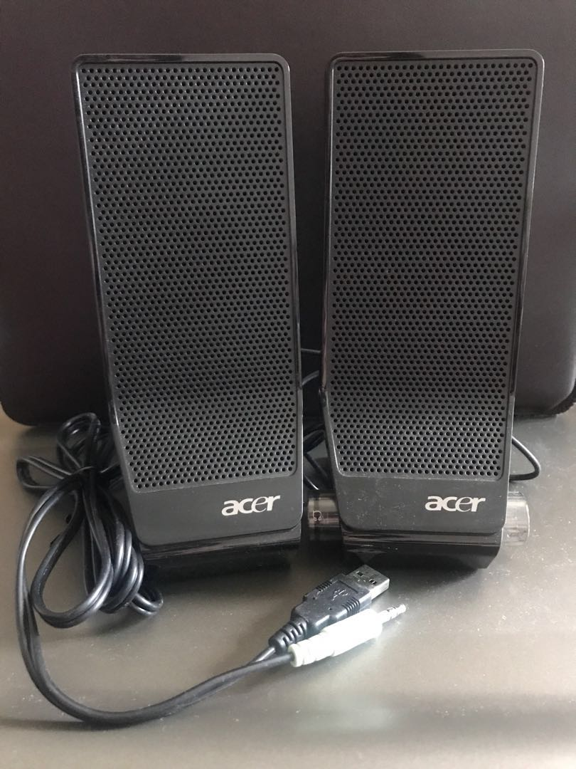 computer speakers not working acer