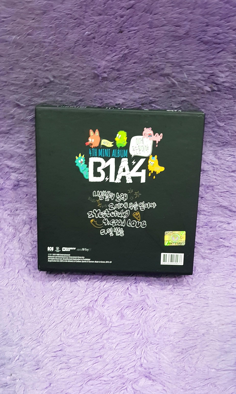 ALBUM DVD KPOP - B1A4 4TH MINI ALBUM WHAT'S GOING ON?!