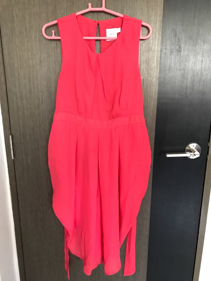 089cd369aa2 ASOS maternity dress in hot pink
