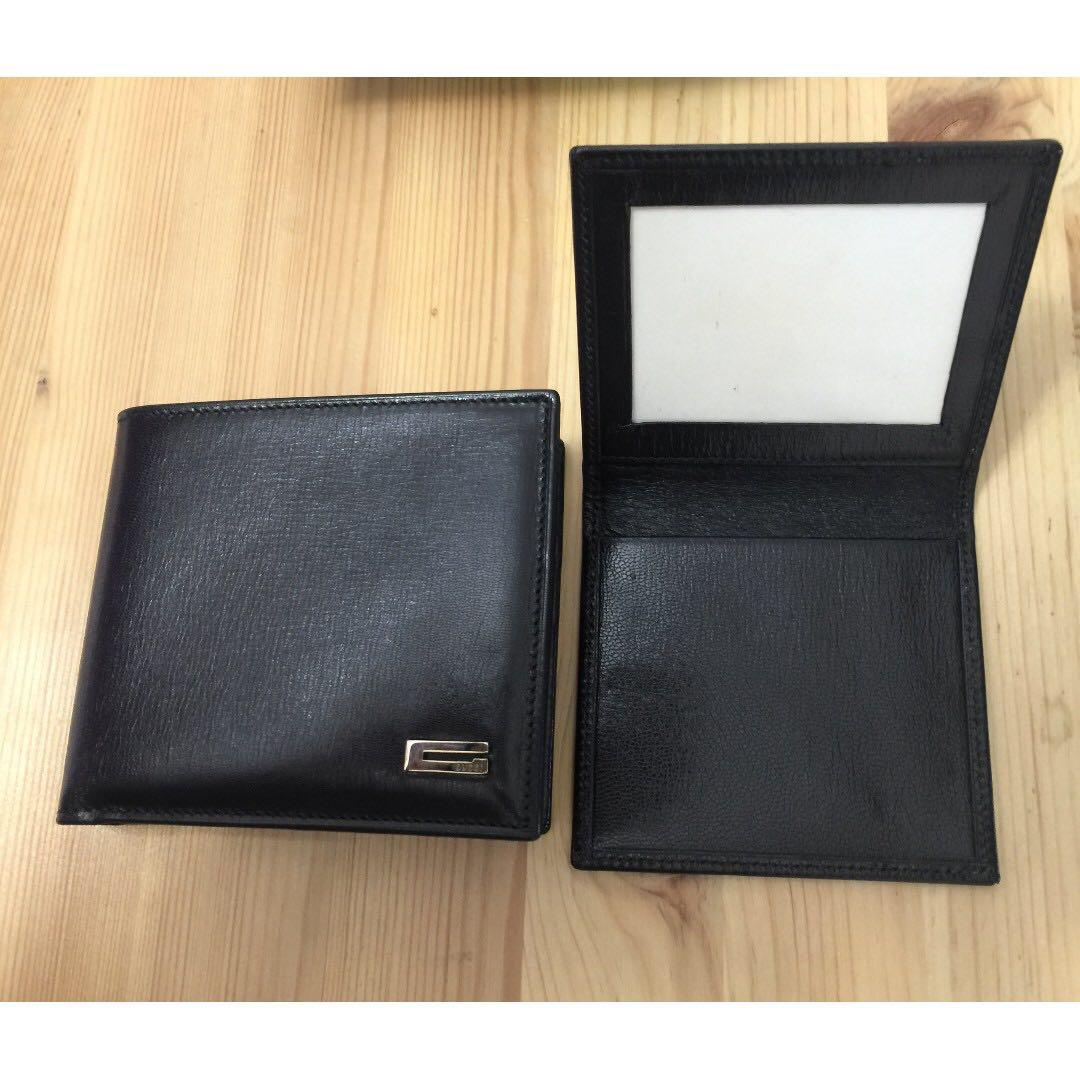 Authentic Gucci Palmellato Leather Wallet, neutral design