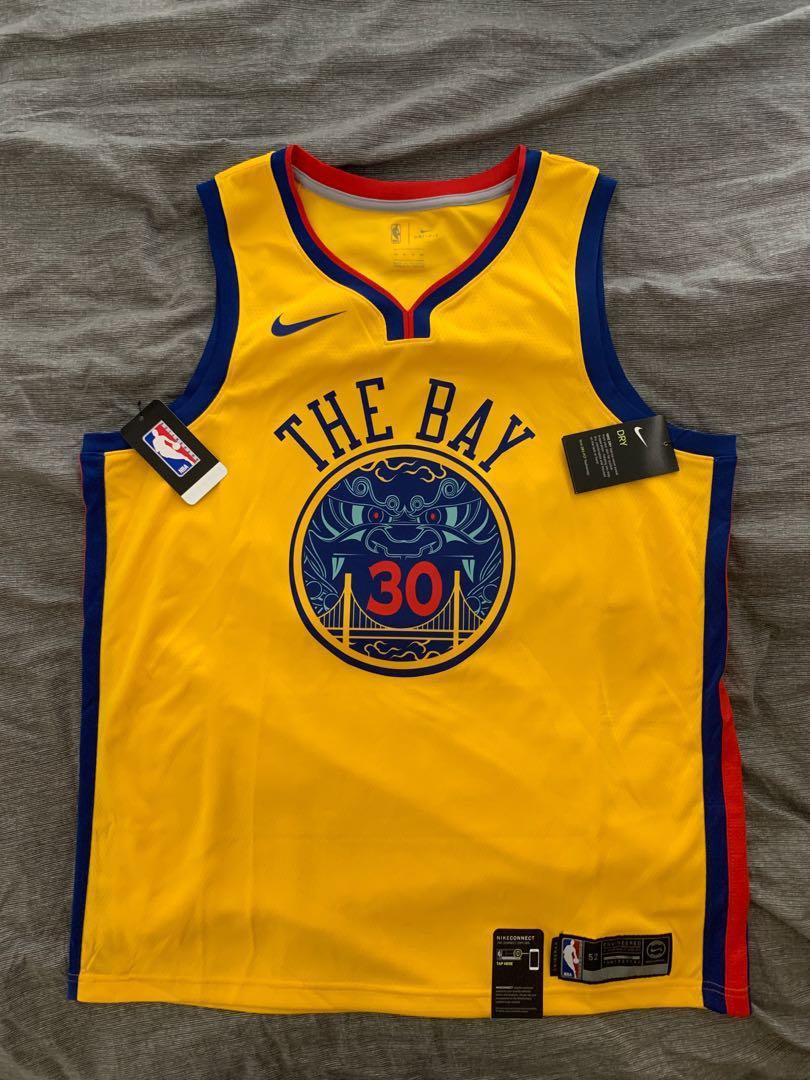 new concept ff896 e2d29 NBA Warriors Stephen Curry Jersey, Sports, Sports Apparel on ...