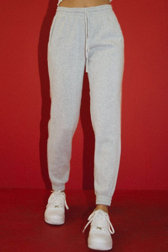 how to get many fashionable outlet store sale Brandy Melville Rosa sweatpants, Women's Fashion, Clothes ...