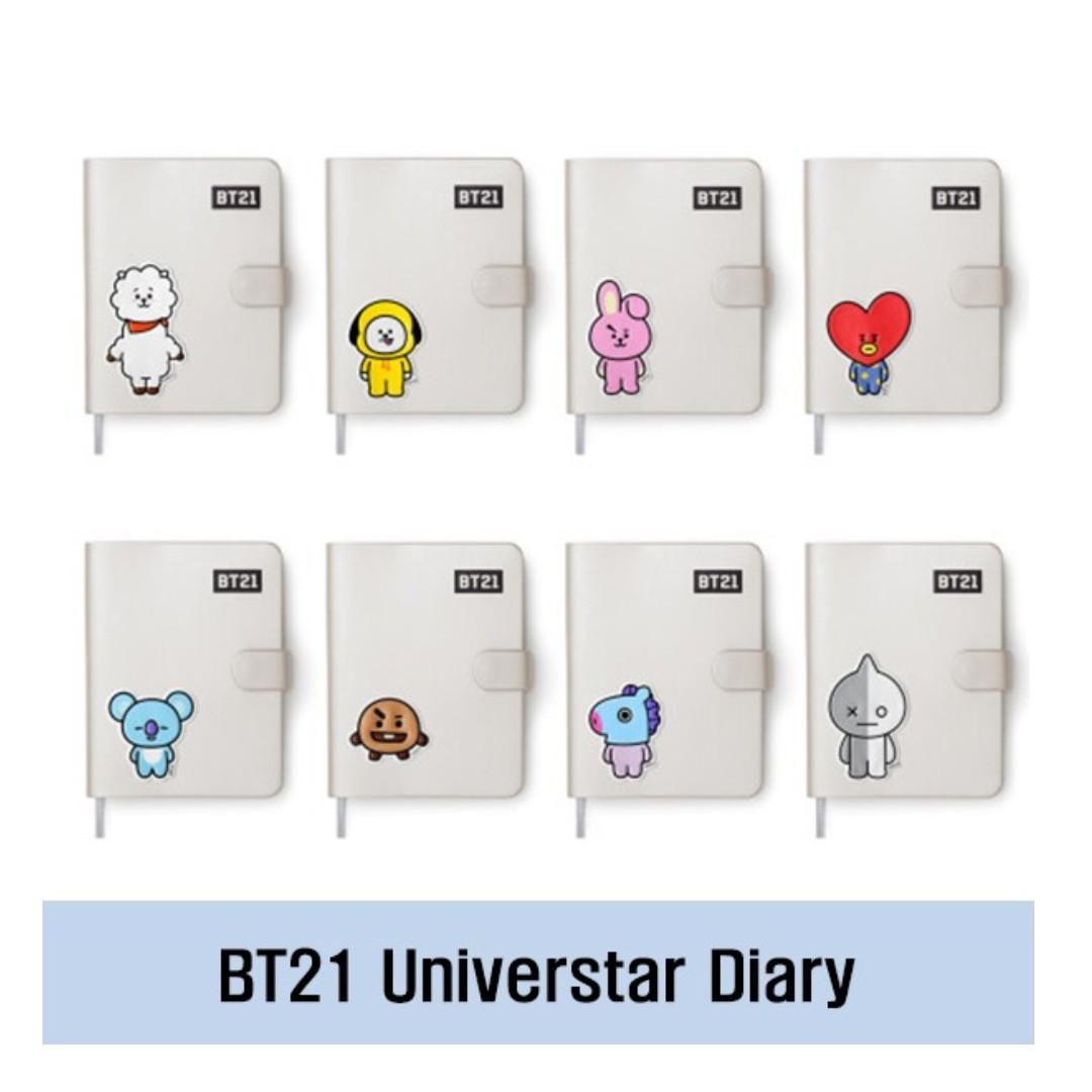 [BT21] Universtar Diary, Planner / BTS Official Goods / Ship From Korea