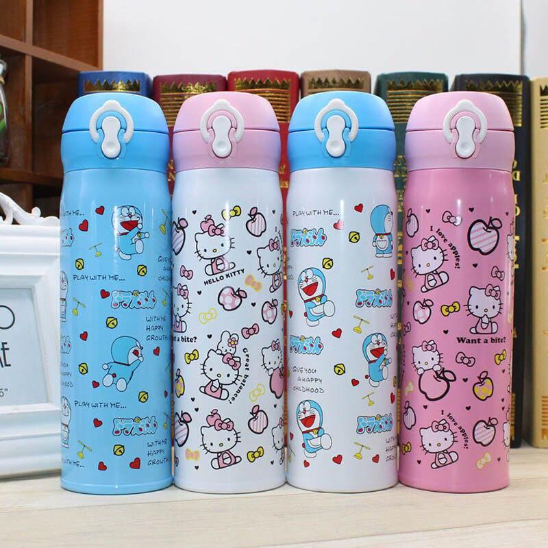 Cartoon Stainless Steel Thermos Flask