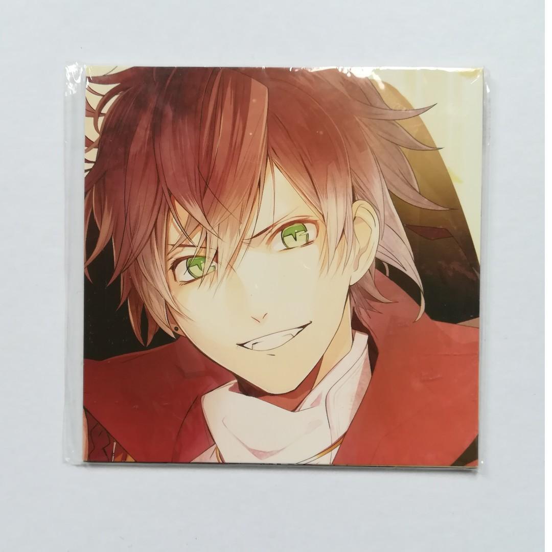 Diabolik Lovers & Ken ga Kimi - Rejet × Dengeki Girl's Style -  Replacement Jacket Postcard