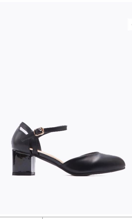 a66c3123600 DMK black sandal block heel
