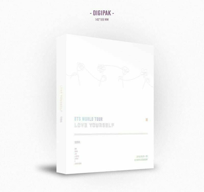 DVD BTS LOVE YOURSELF TOUR IN SEOUL