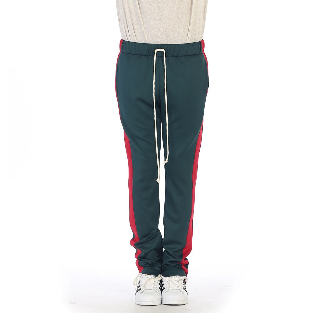 ae7e14bce93237 EPTM USA : Green/Red-Track Pants, Men's Fashion, Clothes, Bottoms on ...