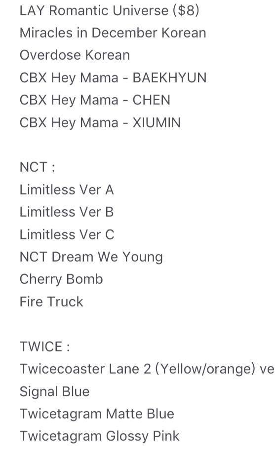 EXO TWICE NCT ALBUM SALES $4 EACH, Entertainment, K-Wave on