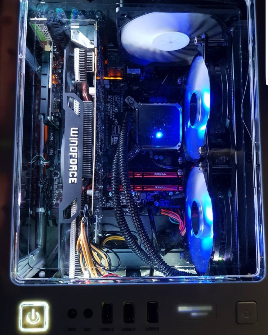 Gaming PC (complete set) gtx 970 gpu with gaming chair