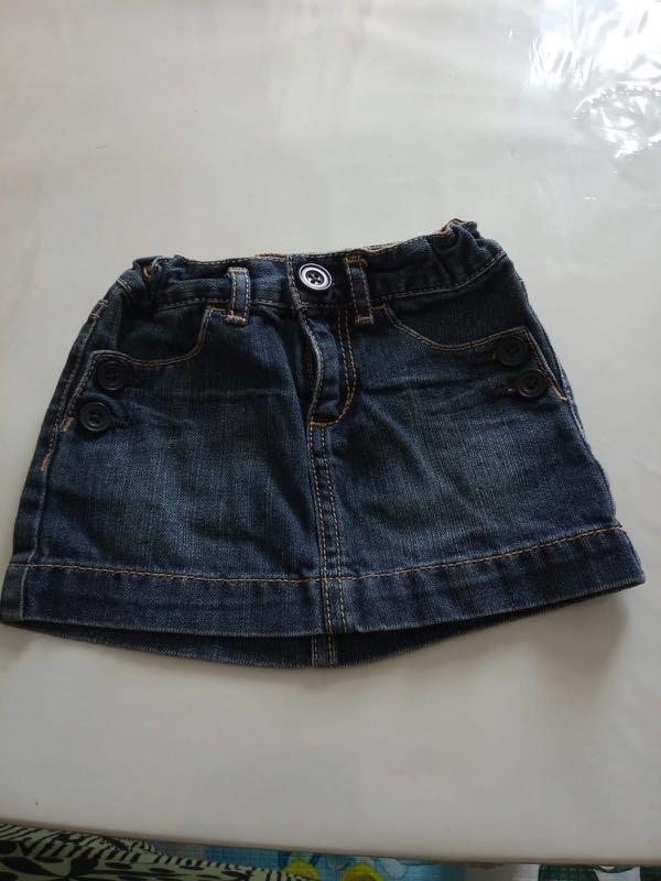 f98a35bca GAP denim skirt, Babies & Kids, Girls' Apparel, 1 to 3 Years on ...